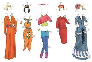 Fashion Through The Ages Essay by Paper Doll Dress Up Fashion Through The Ages Cico Books Hire An Illustrator