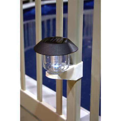 Landscape Lighting Kits Walmart Vinyl Works Solar Light Kit For Above Ground Pool Fence