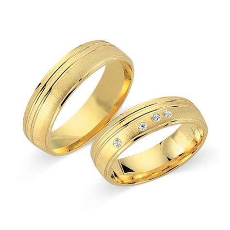 Eheringe 750er Gelbgold by Eheringe 750er Gelbgold 4 Diamanten Wr0331 7s