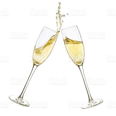 bicchieri di spumante bicchieri di chagne splash foto di stock istock