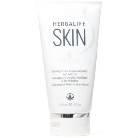 Masker Herbalife masque d argile purifiant 224 la menthe herbalife skin