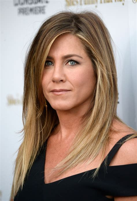 dark or blonde hair for 45 year old woman jennifer aniston s snapchat debut photo is gorgeous