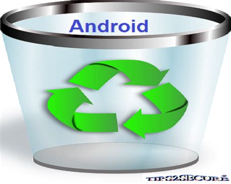 empty trash android restore deleted files in recycle bin