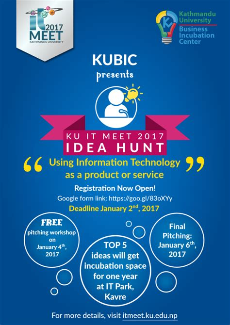 idea hunt ku it meet 2017 ideate startup innovate