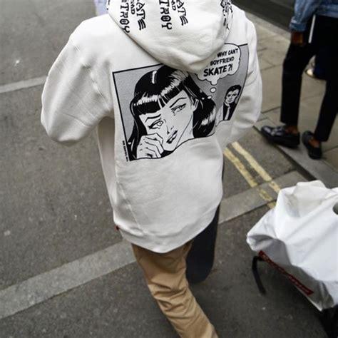 Sweater Thrasher Black Plece Tebal supreme nwt supreme x thrasher boyfriend hoodie sz