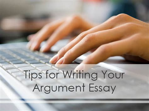 Tips For Writing An Argumentative Essay by Tips On Argumentative Essay Writing Topwritingservice
