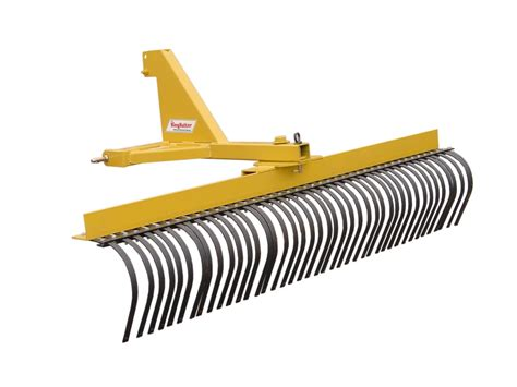 3 Point Landscape Rake Uses King Kutter 8 Professional Landscape Rake Yr G 96 By King