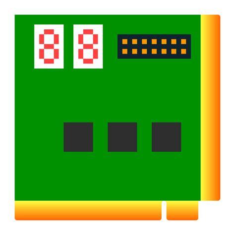 test computer clipart computer test card