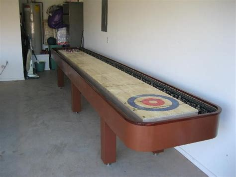 shuffleboard table for by garyk lumberjocks
