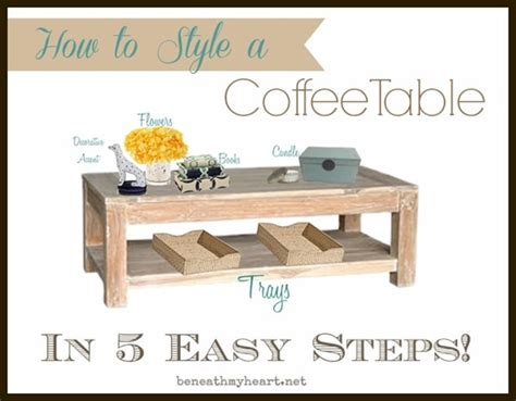 how to style a coffee table how to style a coffee table in 5 easy steps beneath my