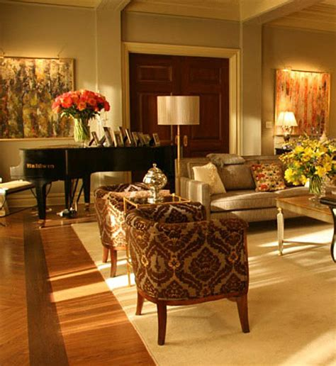 Blair Waldorf Living Room by Armchair Decor Interior Interior Design Image