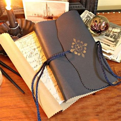 How To Make A Handmade Leather Journal - how to make handmade leather journals with their
