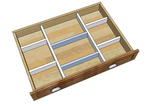 Drawer Dividers by Wood Drawer Organizers Kitchen Remodel