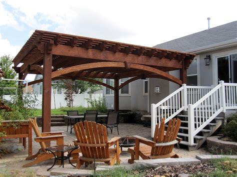 sized timber frame pergola arbor gazebo kits patio