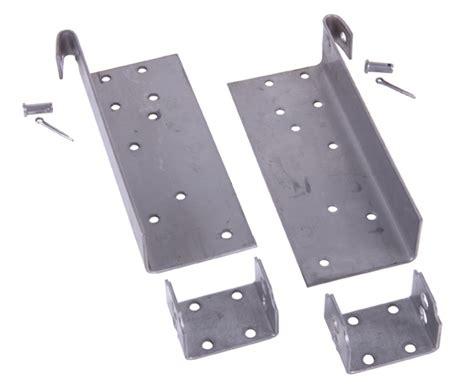garage door stainless steel bottom bracket