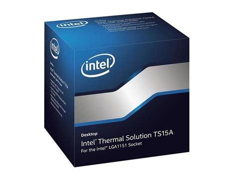 lga 1151 cpu cooler intel active thermal solution ts15a for lga 1151 socket