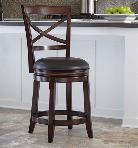 upholstered counter height swivel stools furniture porter counter height x back upholstered