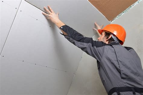 Drywalling A Ceiling By Yourself 1800 Drywall Tips Advice