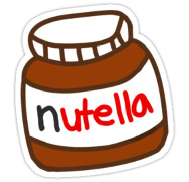 """""""cute tumblr nutella pattern"""" stickers by deathspell"""