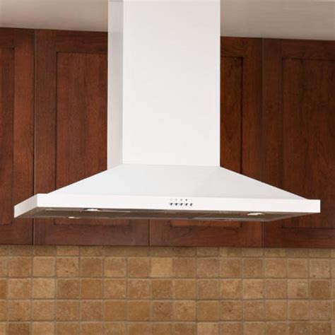 36 Quot Artisan Series Stainless Steel White Island Range Hood | 36 quot artisan series stainless steel white island range hood
