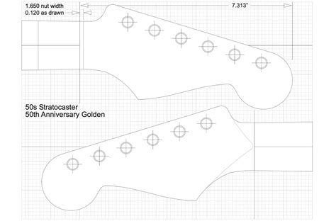 fender neck template fender stratocaster guitar templates electric herald