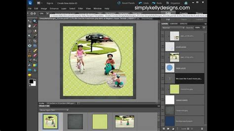 adobe photoshop elements card template using psd templates in photoshop elements 10