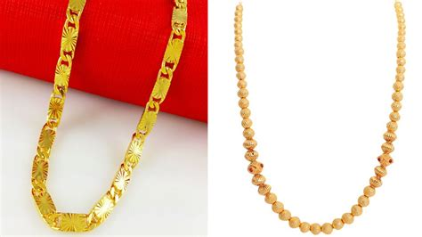 top   gold chains   designs styles  life