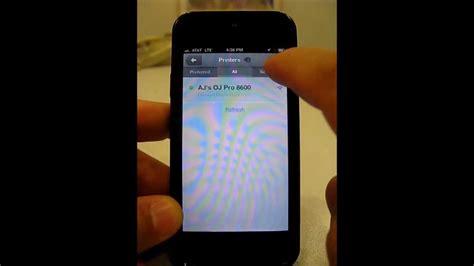 hp print mobile app hp mobile printing using the hp eprint app