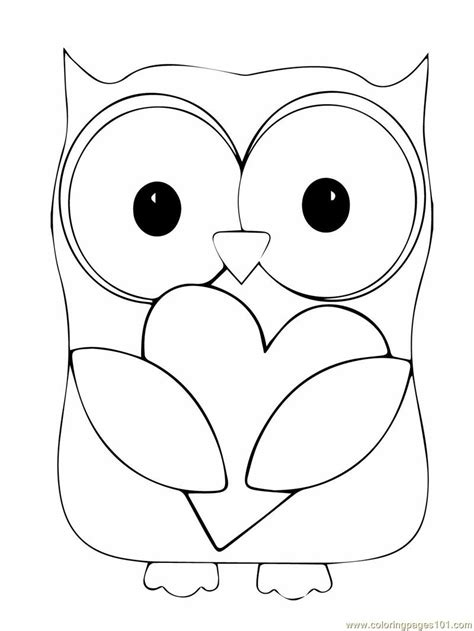 coloring book pages of owls free baby owls coloring pages