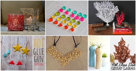 diy glue gun projects fascinating diy glue gun projects for every craft