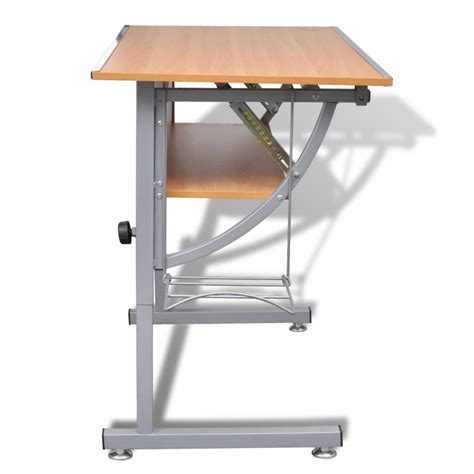 adjustable height drafting table vidaxl co uk s drafting table height adjustable