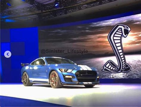 2020 Ford Mustang Gt500 by 2020 Ford Mustang Shelby Gt500 Leaked