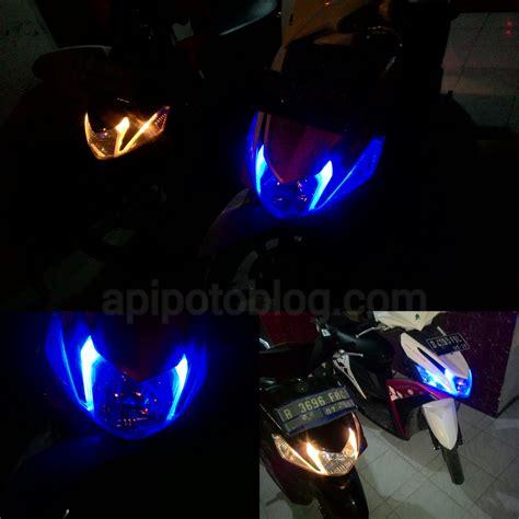 Lu Led Yamaha Mio agar tilan motor lebih keren ganti saja lu senja
