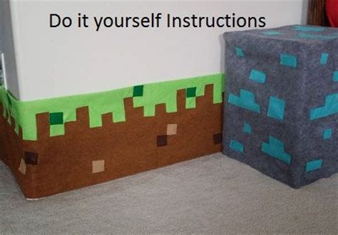 do it yourself bedroom decor do it yourself minecraft inspired grass block border