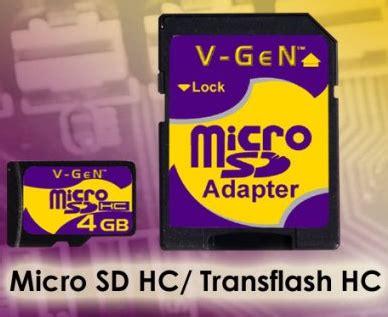 Memory Vgen 4gb Class 6 4 Gb Micro Sd Card Memori Ke Berkualitas harga micro sd adapter 4gb vgen murah micro sd murah