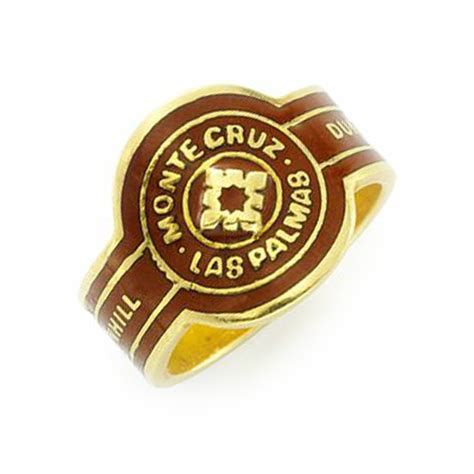 fd gallery an enamel and gold cigar band ring by