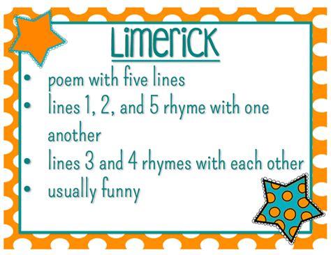genre limerick mrs strader s website