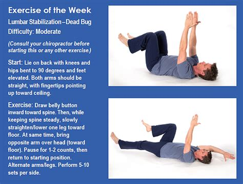 exercise of biography life wellness center exercise of the week lumbar