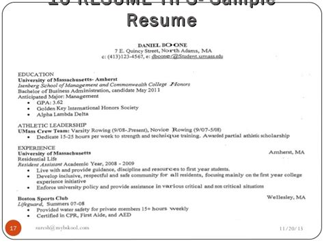 How To List Part Time Mba On Resume by Mybskool Live Class Why Analysis Of A Resume Is