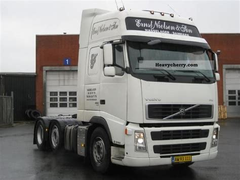 Scrup Fh Uk 6 X 1 volvo fh 480 6x2 2010 standard tractor trailer unit photo and specs