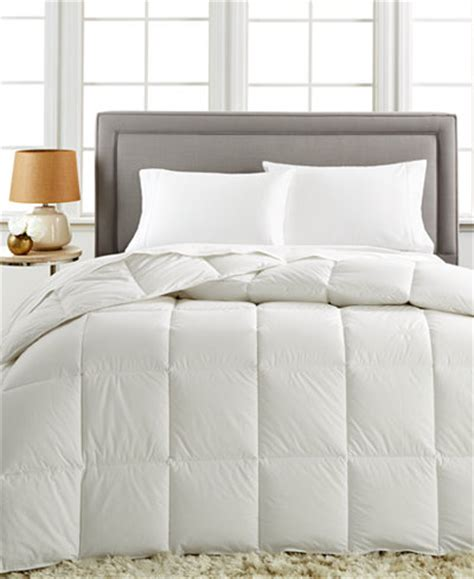 queen comforter only closeout charter club white cloud down alternative full