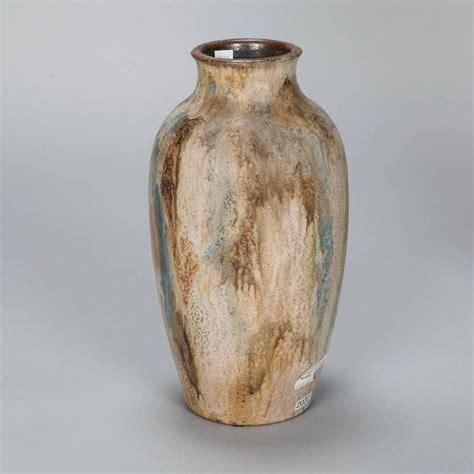 Ceramic Vases Large by Large Signed Edgar Aubry Pottery Ceramic Vase At 1stdibs