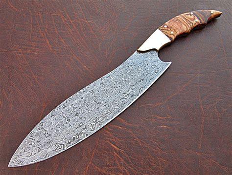 damascus steel kitchen knives damascus kitchen knife custom handmade damascus steel knife