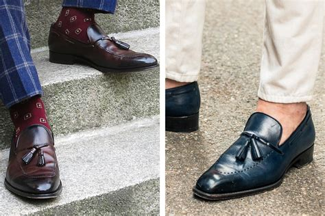 socks and loafers how to wear loafers the gentlemanual a handbook for