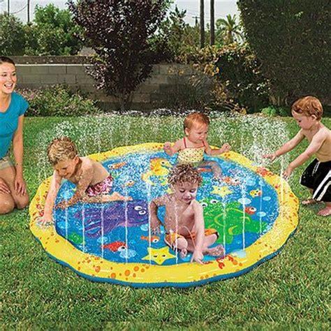 fun backyard toys outdoor yard water park bouncer fun kids play home toy