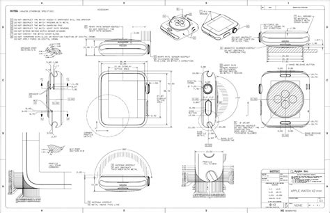 Museum Floor Plan Dwg by Design Nerds Will Love This Beautiful Apple Watch Schematic