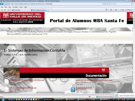 Mba Portal by Marketing Solutions Web Page