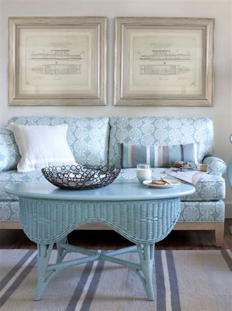 cottage style magazine table using wicker furniture indoors home country chic
