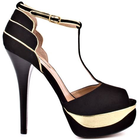 Heels Black List Gold for my of shoes black and gold heels