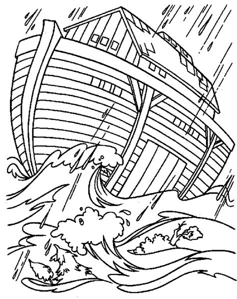 noah s ark coloring sheet